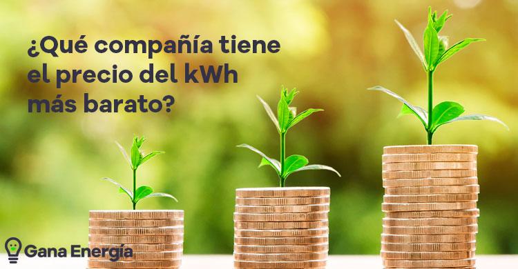 Precio del kWh más barato en España