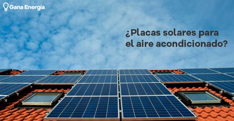 Placas solares para aire acondicionado: ¿Es rentable?