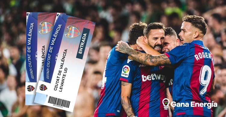 Consigue entradas del Levante UD con Gana Energía